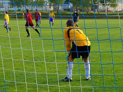 Brankář fotbal