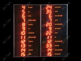 Světelné tabule - Basketball PLAYER BOARDS K12.L