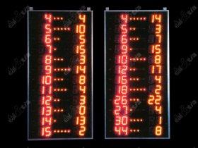 Světelné tabule - Basketball PLAYER BOARDS K12.PR