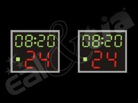 Světelné tabule - časomíry Basketball - útočný čas 24s PROFESSIONAL