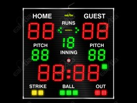 Světelná tabule - Baseball - Softball III.QR GPS
