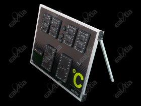 Světelná fotbalová tabule DERBY® Cute GPS * Stopwatch Plus - Mobile Stand (SW Q3)