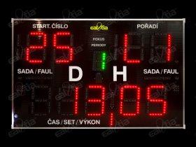 Časomíra DERBY® Genio QR 26/199 * fotbal, požární sport a další