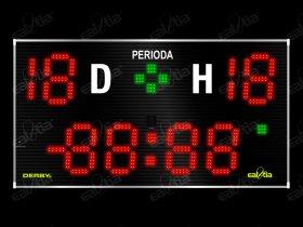 Světelná tabule - časomíra Fotbal DERBY® GRAND 32.19 GPS*TEMP (dálkové ovl.)