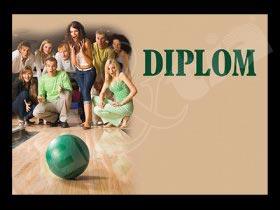 Diplom sportovní - bowling A4 č.17