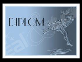 Diplom sportovní - fotbal, nohejb. A4                      č.12