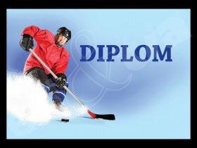 Diplom sportovní - hokej A4 č.15
