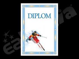 Diplom sportovní - lyžování A4 č.18