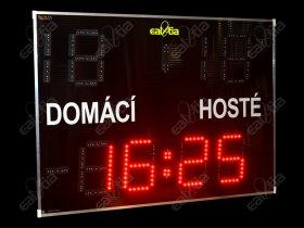 Světelná tabule - časomíra Fotbal DERBY® GRAND 26.19 GPS*TEMP (dálkové ovl.)