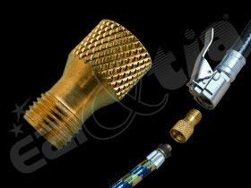Redukce: spojení hadičky ke kompresoru