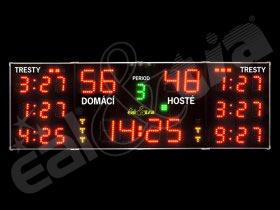 Světelná tabule - časomíra HÁZENÁ * HOKEJ * FLORBAL  * HOKEJBAL - H26.99