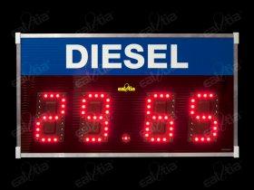 Cenová světelná tabule jednořádková PHM - Board Price Diesel * CEN 1/18 RC