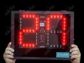 Střídací světelná tabule DERBY® Handy-E double (oboustranná)