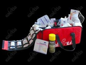 Zdravotnická brašna velká (včetně vybavení Standard) aqua