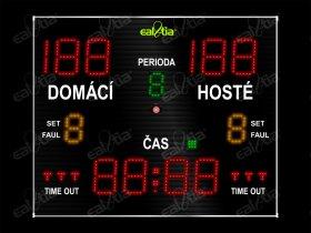 Světelná časomíra - tabule SPORT VARIO K7.M * florbal, futsal, basketbal, házená ..