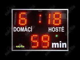 DERBY® - Fotbalová světelná tabule - časomíra DERBÍČKO® 19 (80x60cm)