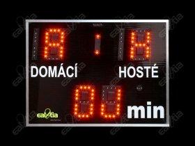 DERBY® - Fotbalová světelná tabule - časomíra DERBÍČKO® 9 (80x60cm)