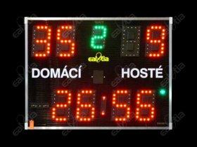 Světelná tabule DERBY® Fotbálek 99  (fotbal - velký, malý  *  halový režim  *  stopky)