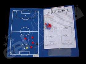 Trenérské desky s magnety a blokem - fotbal