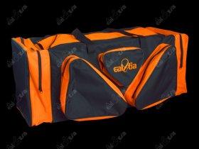 Taška HOKEJ Lux * Senior, černo-oranžová