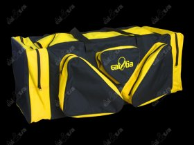 Taška HOKEJ Lux * Senior, černo-žlutá
