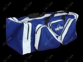 Hokejové tašky LUX * Senior, modro-bílá