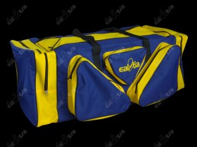 Hokejová taška LUX * Senior, modro-žlutá
