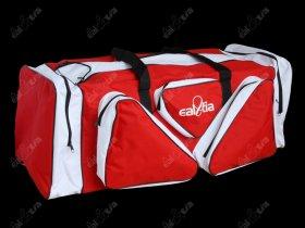 Tašky HOKEJ Lux * Senior, červeno-bílá