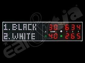 Světelná tabule TENIS K.3  RC   *   Scoreboard TENNIS K.3 RC   *   Tenisová tabule   *   Ukazatel pro tenis