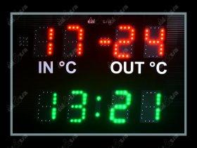 Světelná tabule - časomíra Mini TIME GPS 2T