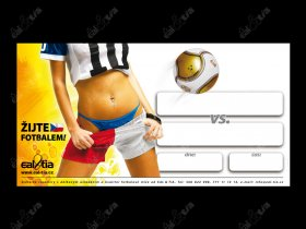 Fotbalové plakáty na domácí utkání - v1, 50ks
