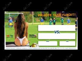 Fotbalové plakáty na domácí utkání - v2, 50ks